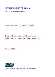 Quality Assurance Handbook for Rural Roads Volume-II - PMGSY