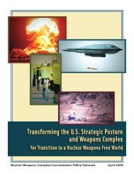 Nuclear Weapons Complex Consolidation Policy Network - NRDC ...