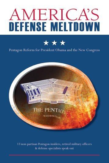 America's Defense Meltdown - IT Acquisition Advisory Council