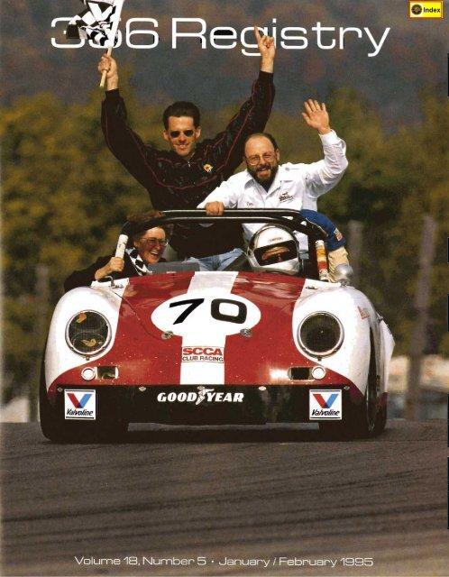 Jun Jul 1988 RARE Awesome 5 1989 Porsche 356 Registry Magazine Vol# 13 No