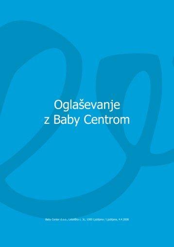 Oglaševanje z Baby Centrom - Baby Center