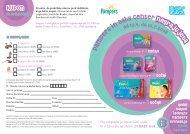 Kupon za sodelovanje - Baby Center