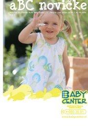 Mesečnik za prijatelje kluba Baby Center I Akcijske cene veljajo od ...