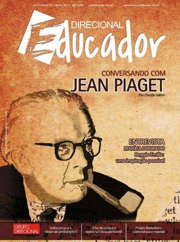 Conversando com Piaget - Portal do Professor - Ministério da ...