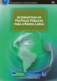 Alternativas de Políticas Públicas para a Banda Larga - Portal do ...