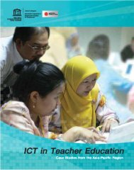 ICT in teacher education: case studies from the ... - unesdoc - Unesco