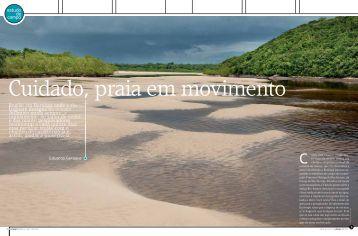 Cuidado, praia em movimento - Portal do Professor
