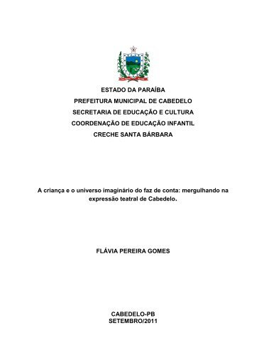 Flávia Pereira Gomes - Portal do Professor - Ministério da Educação