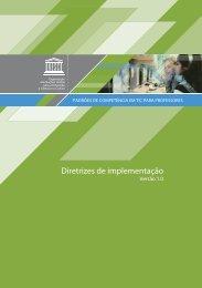 Padrões de competência em tic para professores - unesdoc - Unesco