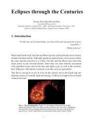 Eclipses through the Centuries - Portal do Professor