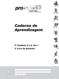 Caderno de Aprendizagem - Portal do Professor