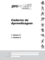 Caderno de Aprendizagem - Portal do Professor - Ministério da ...