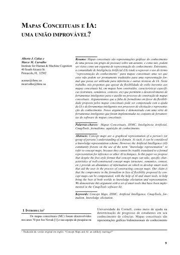 Mapas Conceituais e IA - Portal do Professor