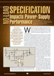 Impacts Power-Supply Performance - Power Electronics
