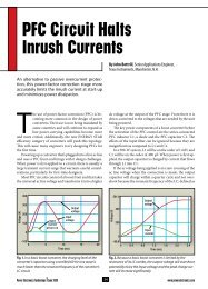 PFC Circuit Halts Inrush Currents - Fig. 2. - Power Electronics