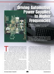 If protected against load dumps and other ... - Power Electronics