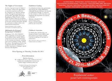 Download - Fondation Cartier pour l'art contemporain - Cartier