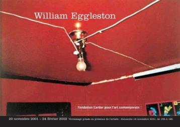 William Eggleston - Fondation Cartier pour l'art contemporain - Cartier