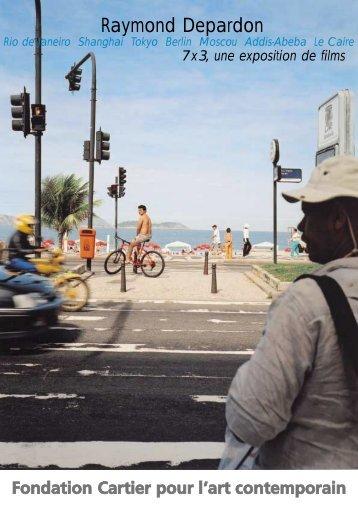 Raymond Depardon - Fondation Cartier pour l'art contemporain ...