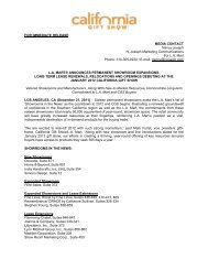 L.A. Mart® Announces Permanent Showroom Expansions, Long ...