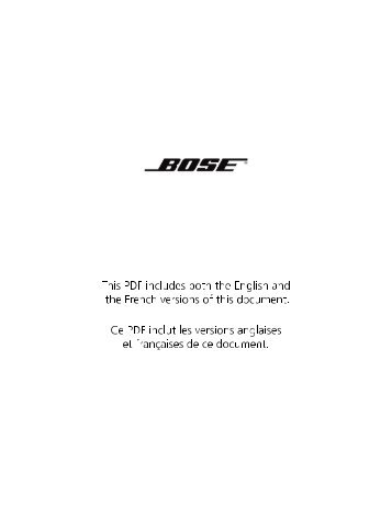 Declaration of Conformity - Bose