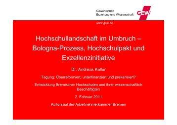 Hochschullandschaft im Umbruch - bei der Arbeitnehmerkammer ...
