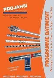(perçage béton acier bois, sciage, fixation) (PDF / 25 MB) - Projahn