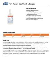 Tork Premium fertőtlenítő habszappan