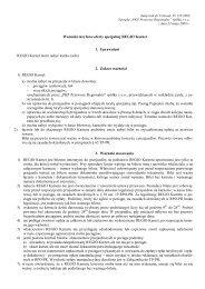 zalacznik do uchwaly warunki of. Regio Karnet - Przewozy Regionalne