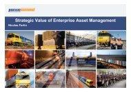 Strategic Value of Enterprise Asset Management