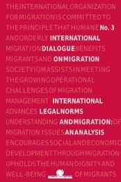 International Legal Norms and Migration - IOM Publications ...
