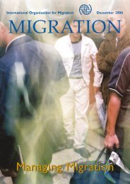 IOM Publications - International Organization for Migration