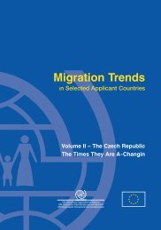 Migration Trends in Selected Applicant Countries - IOM Publications ...