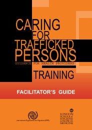 facilitator's guide - IOM Publications - International Organization for ...
