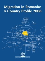 Migration in Romania: A Country Profile - IOM Publications ...