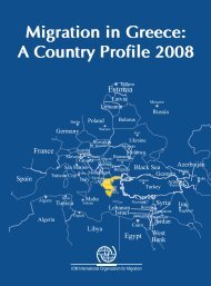 Migration in Greece: A Country Profile 2008 Migration in Greece: A ...