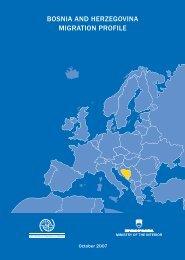 Bosnia and herzegovina migration profile - iom