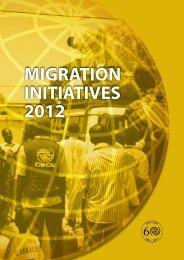MIGRATION INITIATIVES 2012 - IOM Publications - International ...