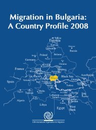 Migration in Bulgaria: A Country Profile 2008 Migration ... - Az IOM on?
