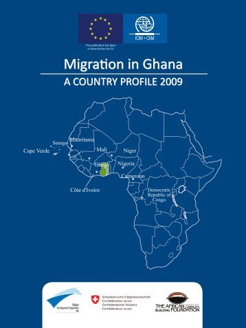 Migration in Ghana: A Country Profile 2009 - IOM Publications ...