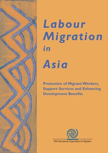 Labour Migration in Asia: Protection of Migrant Workers, Support ...