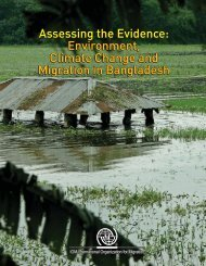 Environment, Climate Change and Migration in Bangladesh - IOM ...