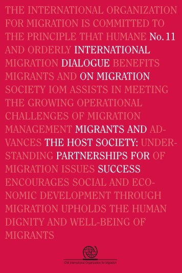 Link - IOM Publications - International Organization for Migration