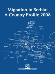 Migration in Serbia: A Country Profile 2008 Migration in Serbia: A ...