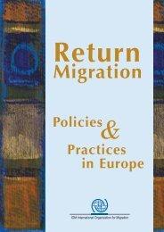 Return - IOM Publications - International Organization for Migration