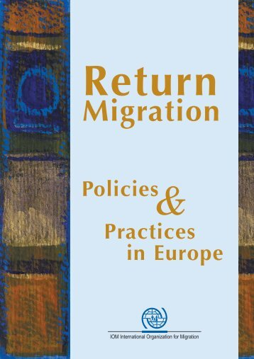 Return - IOM Publications - International Organization for Migration