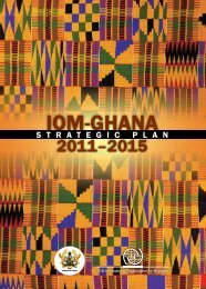 iom-ghana - IOM Publications - International Organization for Migration