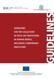 Guidelines for the collection of data on Trafficking - European ...