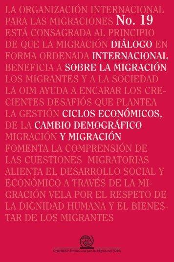 LA ORGANIZACIÓN INTERNACIONAL PARA ... - IOM Publications