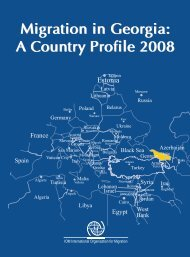 Migration in Georgia: A Country Profile 2008 Migration in Georgia: A ...